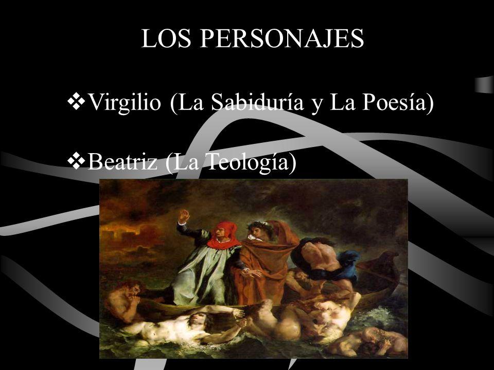 LOS PERSONAJES Virgilio (La Sabiduría y La Poesía)