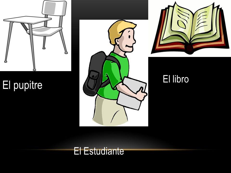 El libro El pupitre El Estudiante