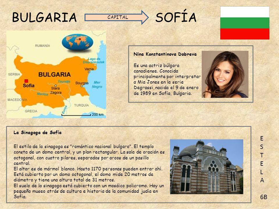 BULGARIA SOFÍA CAPITAL. Nina Konstantinova Dobreva.