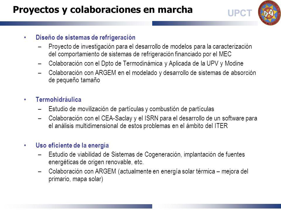 Proyectos y colaboraciones en marcha