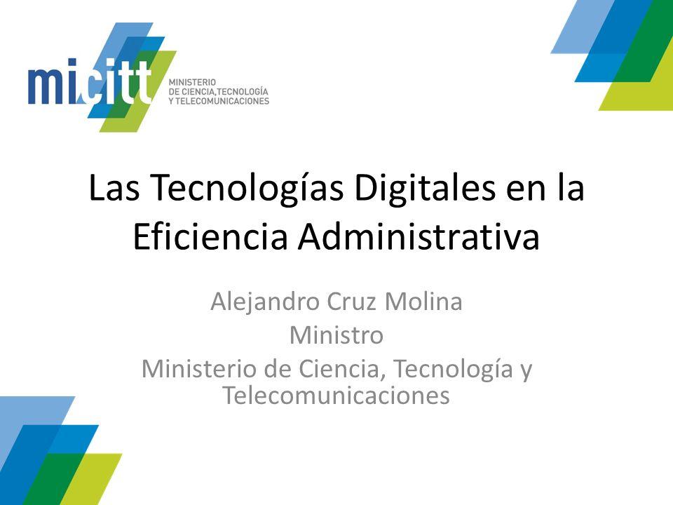 Las Tecnologías Digitales en la Eficiencia Administrativa