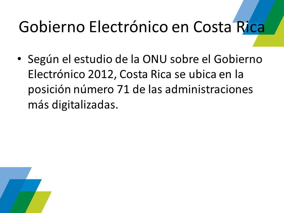 Gobierno Electrónico en Costa Rica