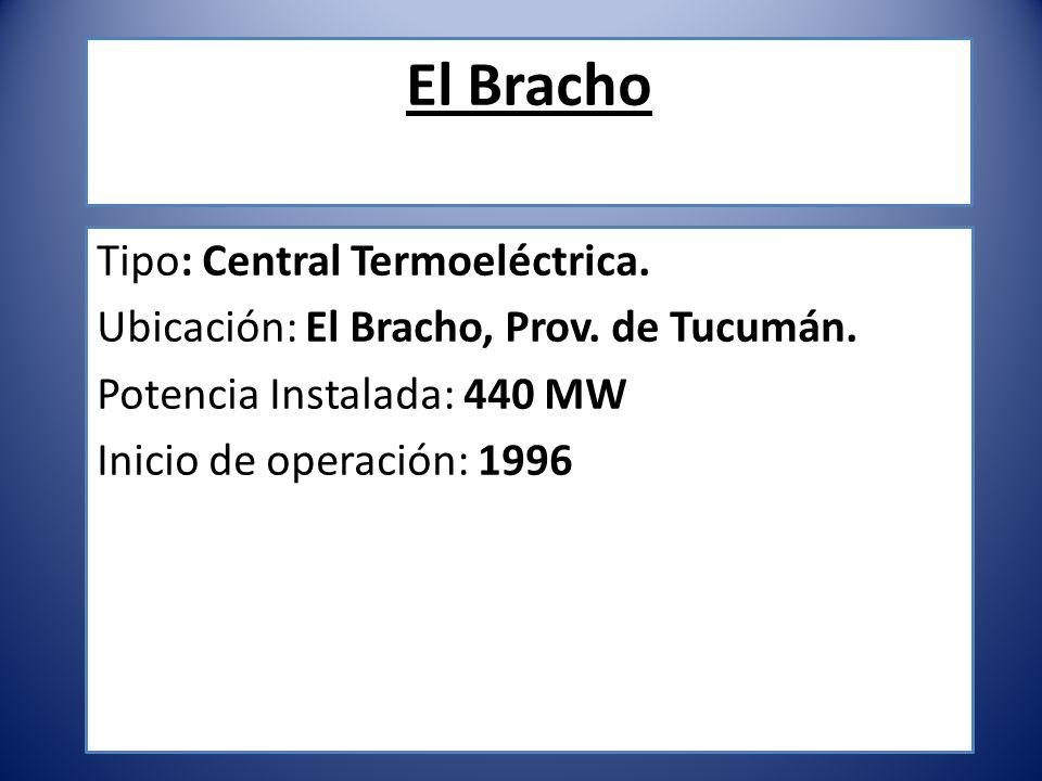 El Bracho Tipo: Central Termoeléctrica.
