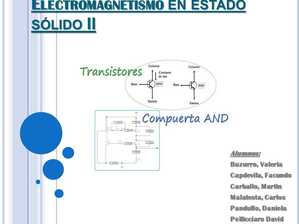 Electromagnetismo en estado sólido II