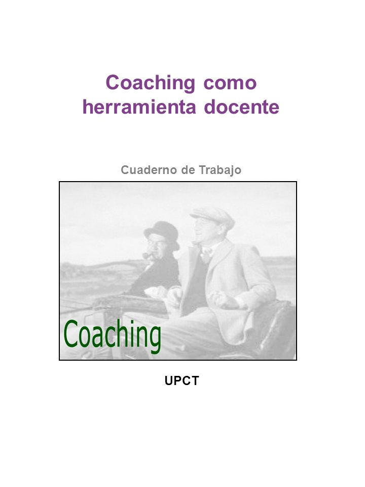 Coaching como herramienta docente