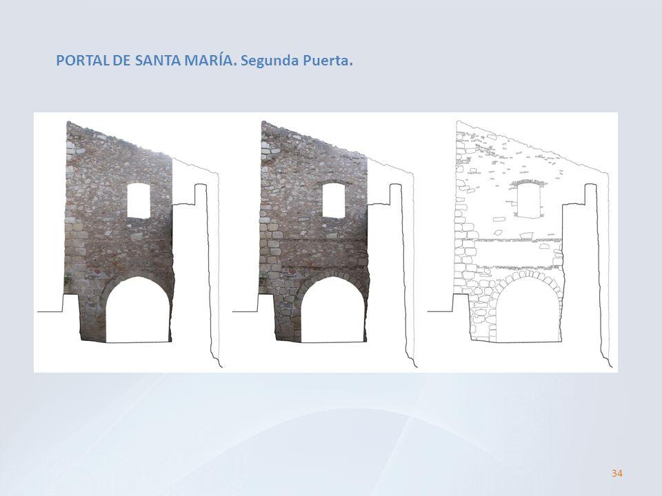 PORTAL DE SANTA MARÍA. Segunda Puerta.