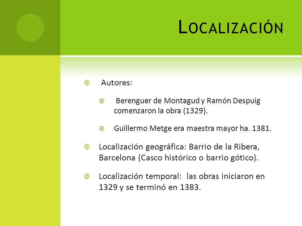 Localización Autores:
