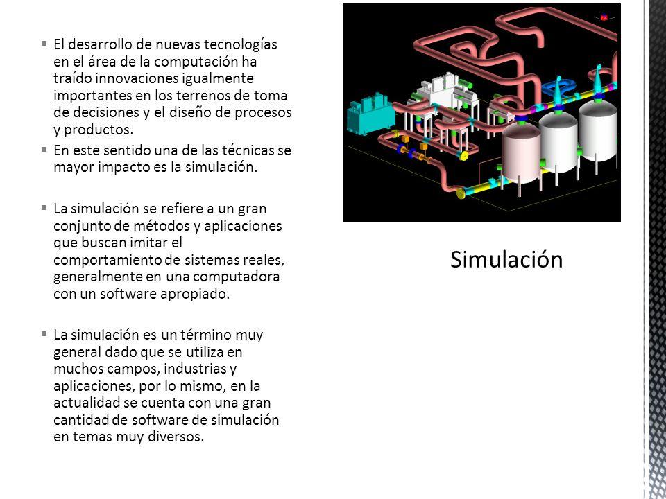 El desarrollo de nuevas tecnologías en el área de la computación ha traído innovaciones igualmente importantes en los terrenos de toma de decisiones y el diseño de procesos y productos.