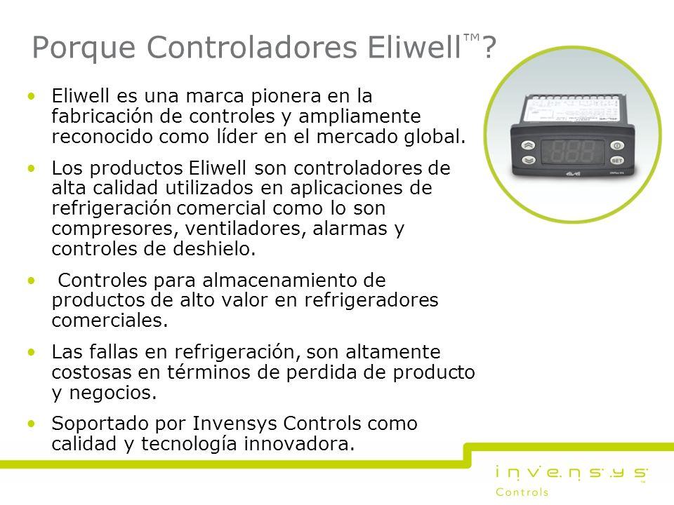 Porque Controladores Eliwell™