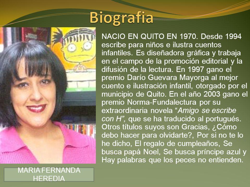 MARIA FERNANDA HEREDIA