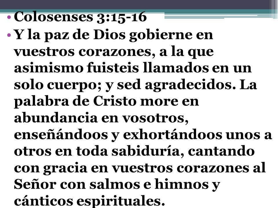 Colosenses 3:15-16