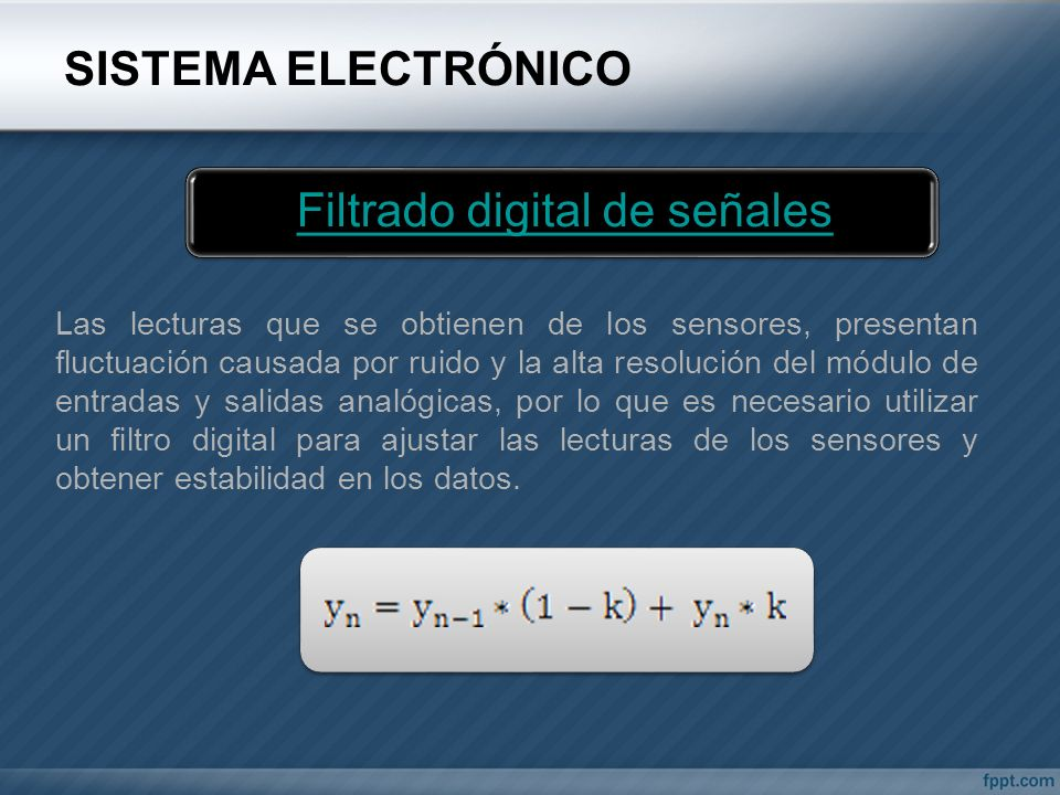 Filtrado digital de señales