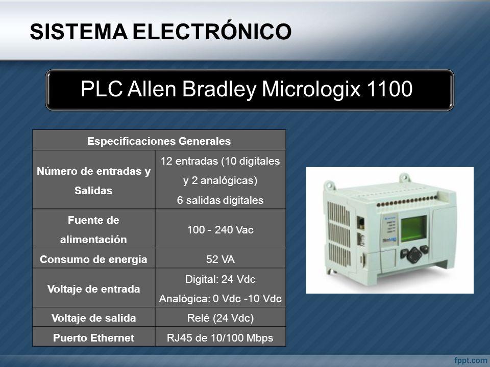 PLC Allen Bradley Micrologix 1100