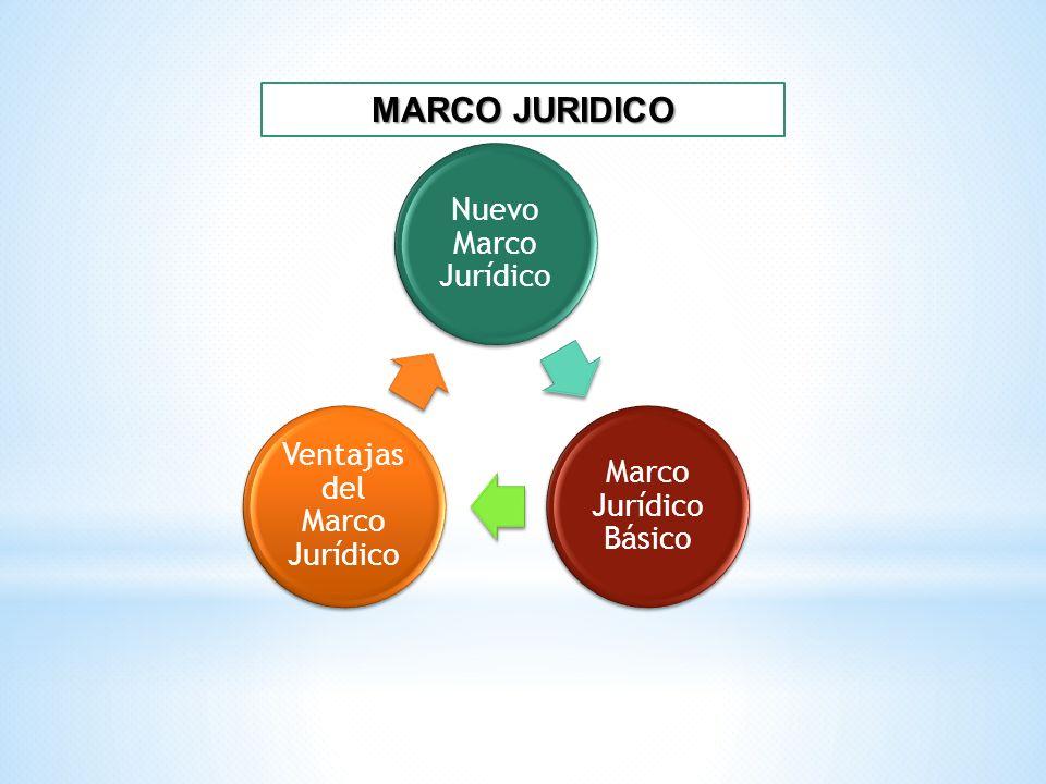 Ventajas del Marco Jurídico