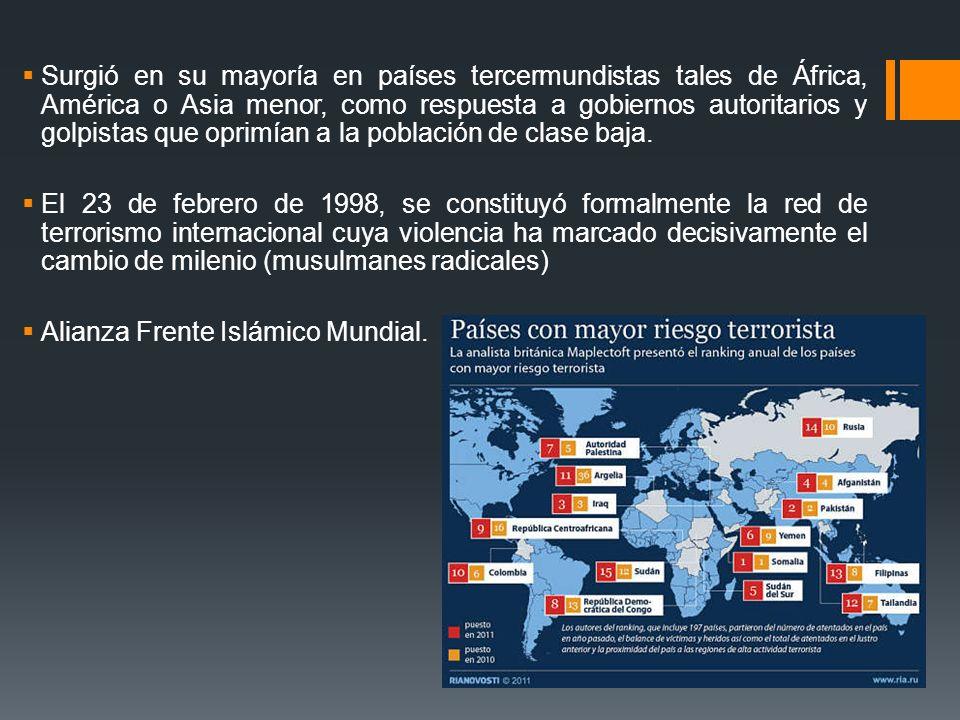 Alianza Frente Islámico Mundial.