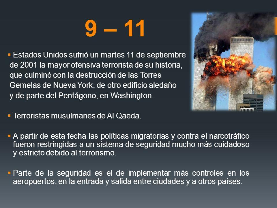 9 – 11 Estados Unidos sufrió un martes 11 de septiembre