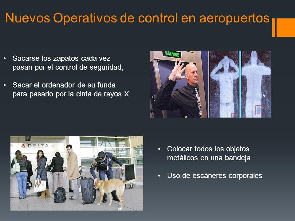 Nuevos Operativos de control en aeropuertos