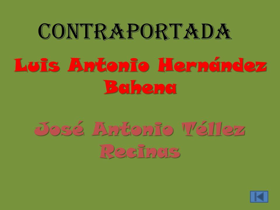 contraportada Luis Antonio Hernández Bahena