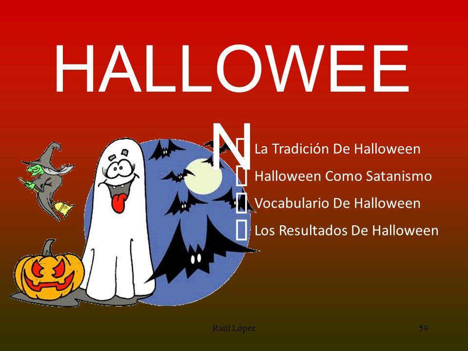 HALLOWEEN ³ ³ ³ ³ La Tradición De Halloween Halloween Como Satanismo