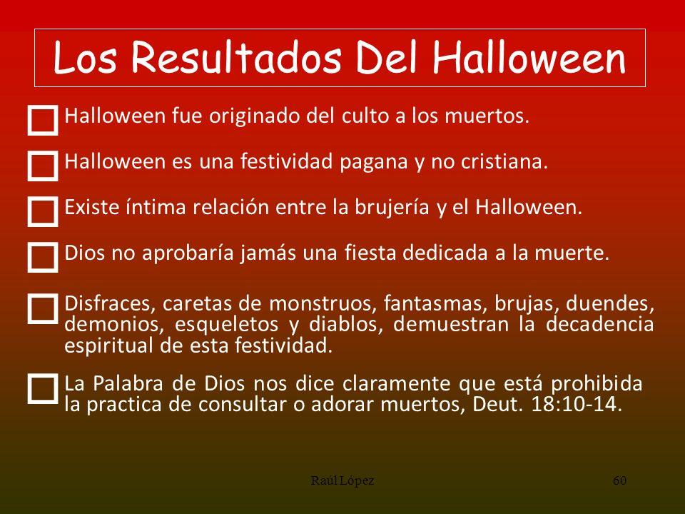 Los Resultados Del Halloween