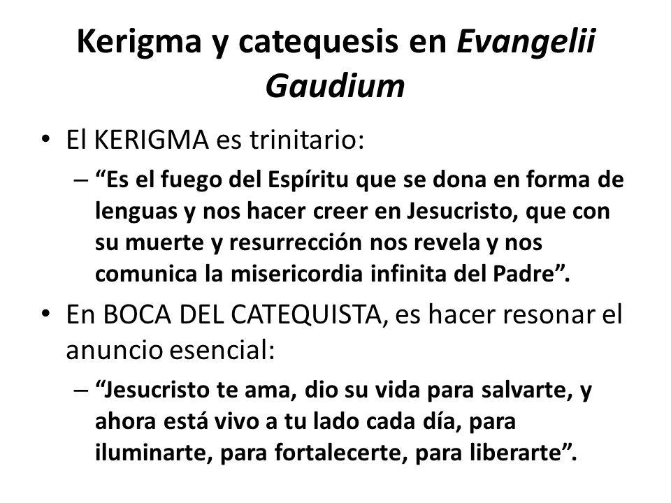 Kerigma y catequesis en Evangelii Gaudium