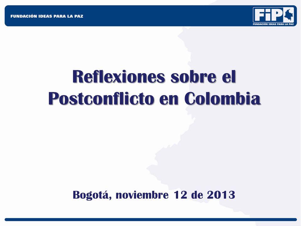 Reflexiones sobre el Postconflicto en Colombia