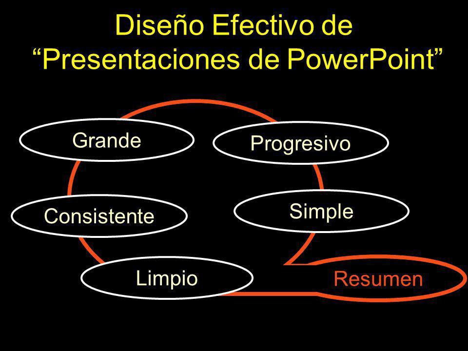 Diseño Efectivo de Presentaciones de PowerPoint