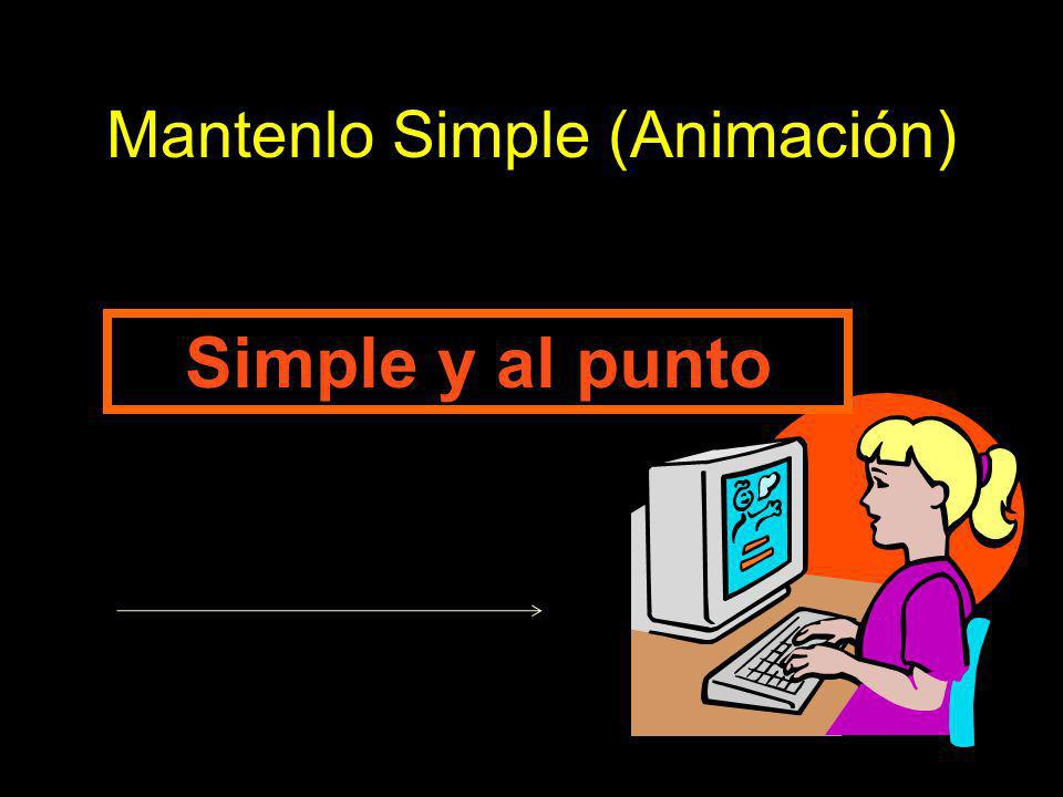 Mantenlo Simple (Animación)