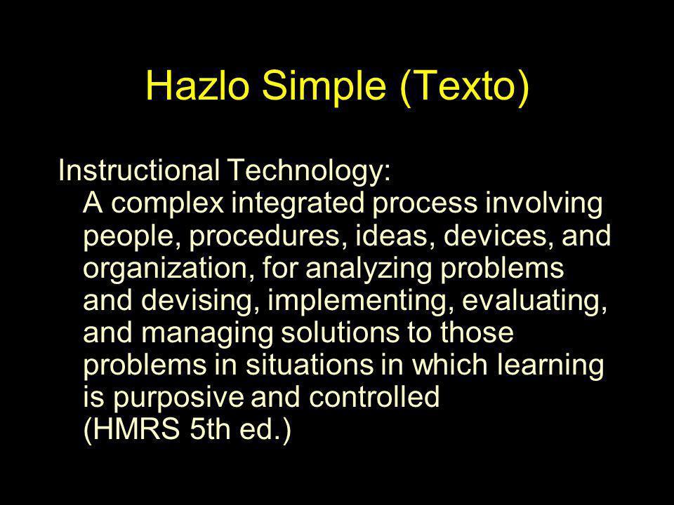 Hazlo Simple (Texto)