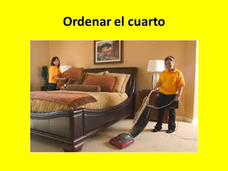 Ordenar el cuarto