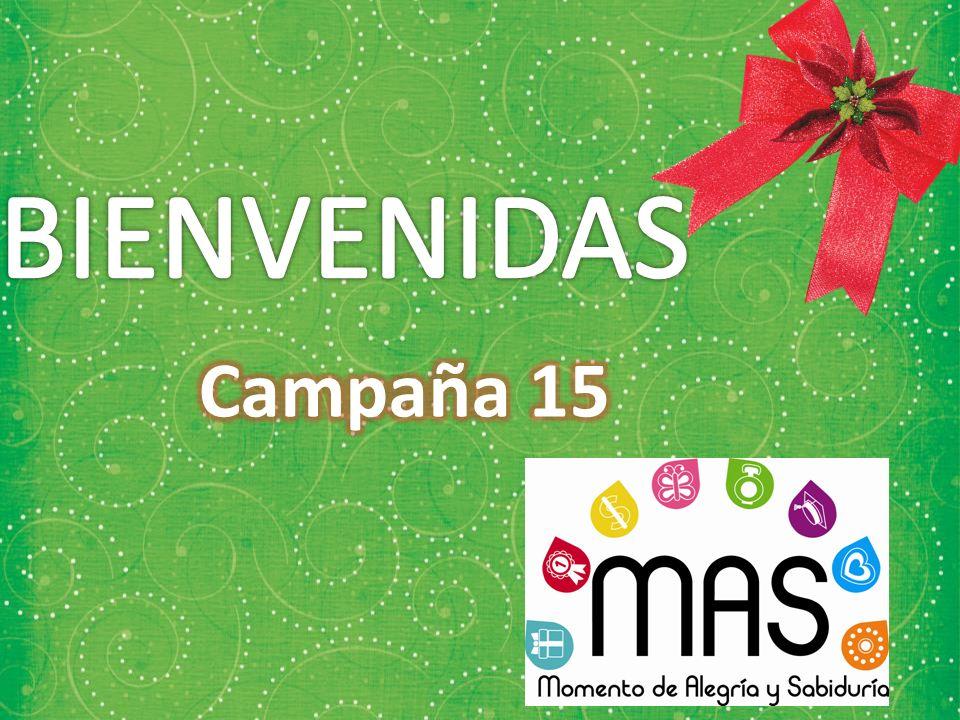 BIENVENIDAS Campaña 15