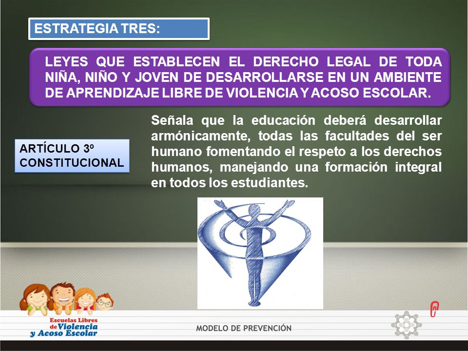 ESTRATEGIA TRES: