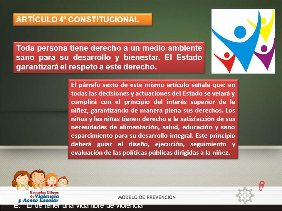 ARTÍCULO 4º CONSTITUCIONAL