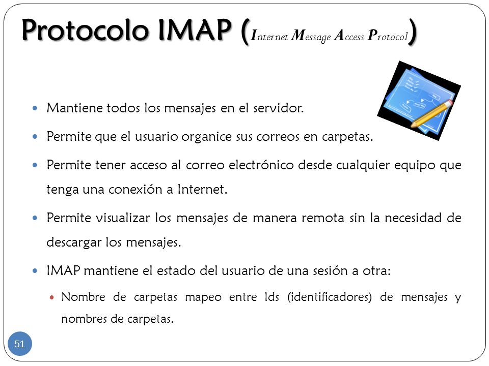 Protocolo IMAP (Internet Message Access Protocol)