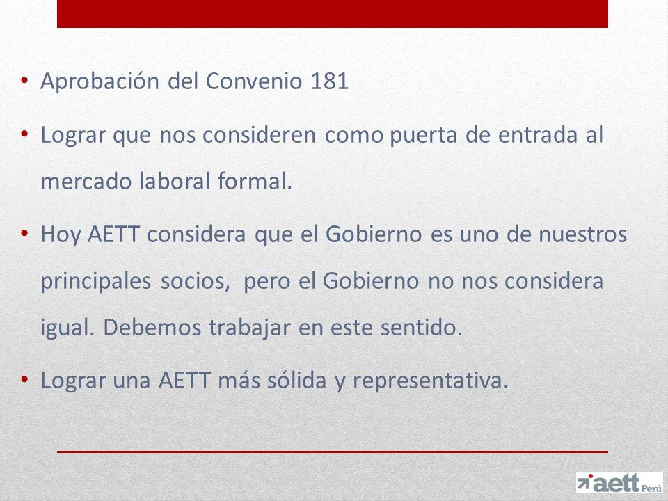 Aprobación del Convenio 181