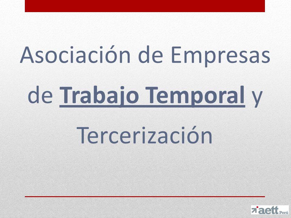 Asociación de Empresas de Trabajo Temporal y Tercerización