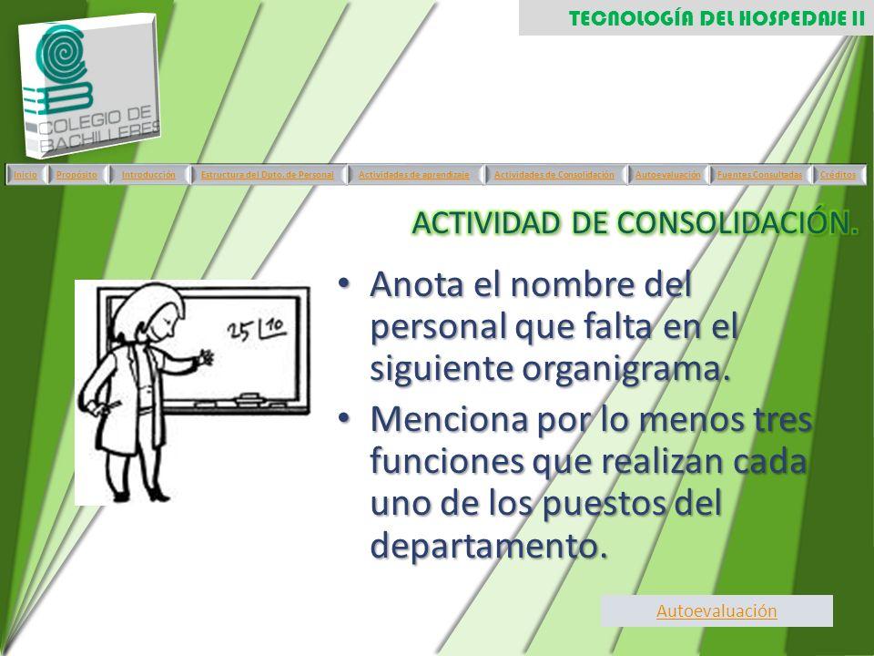 ACTIVIDAD DE CONSOLIDACIÓN.