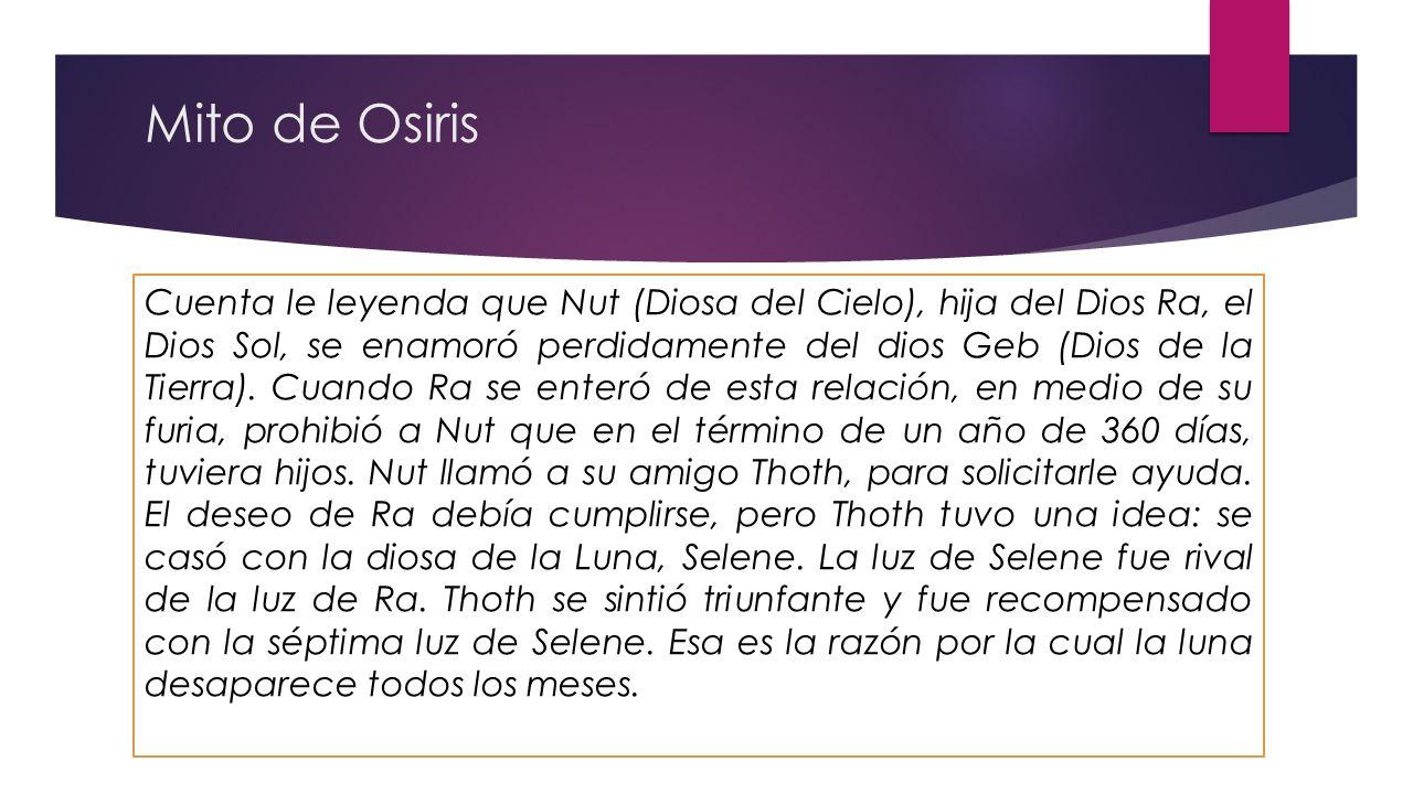 Mito de Osiris