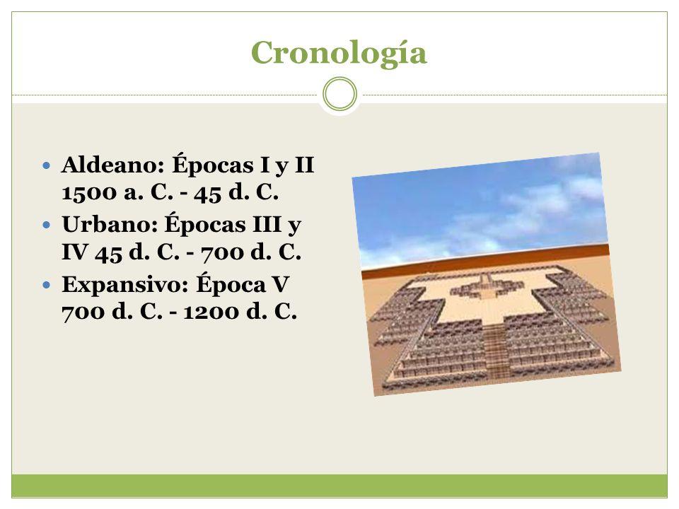 Cronología Aldeano: Épocas I y II 1500 a. C. - 45 d. C.