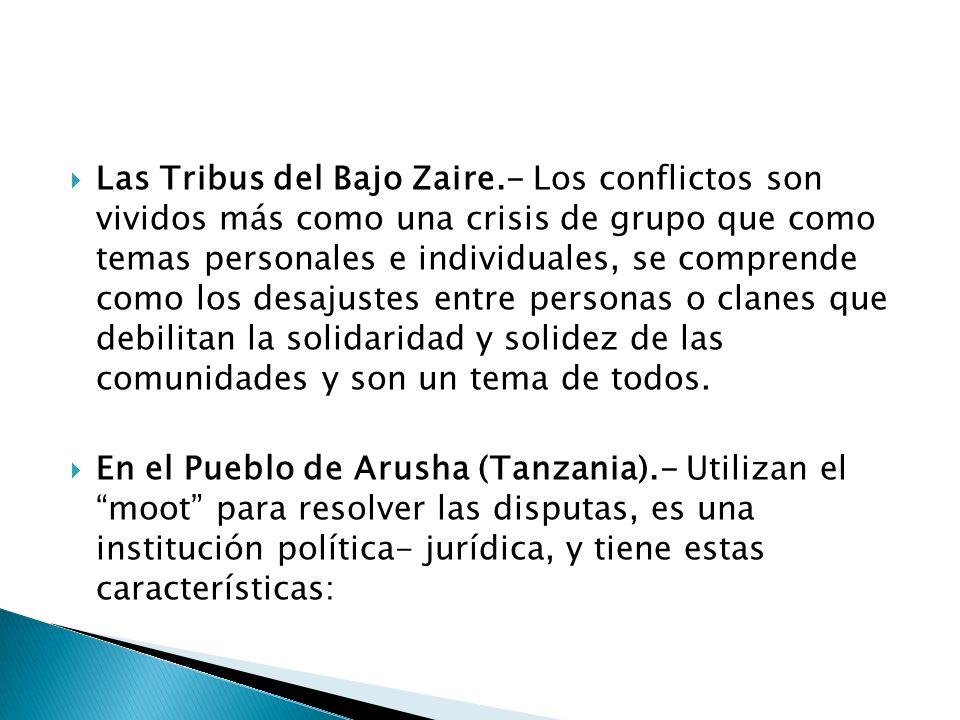 Las Tribus del Bajo Zaire