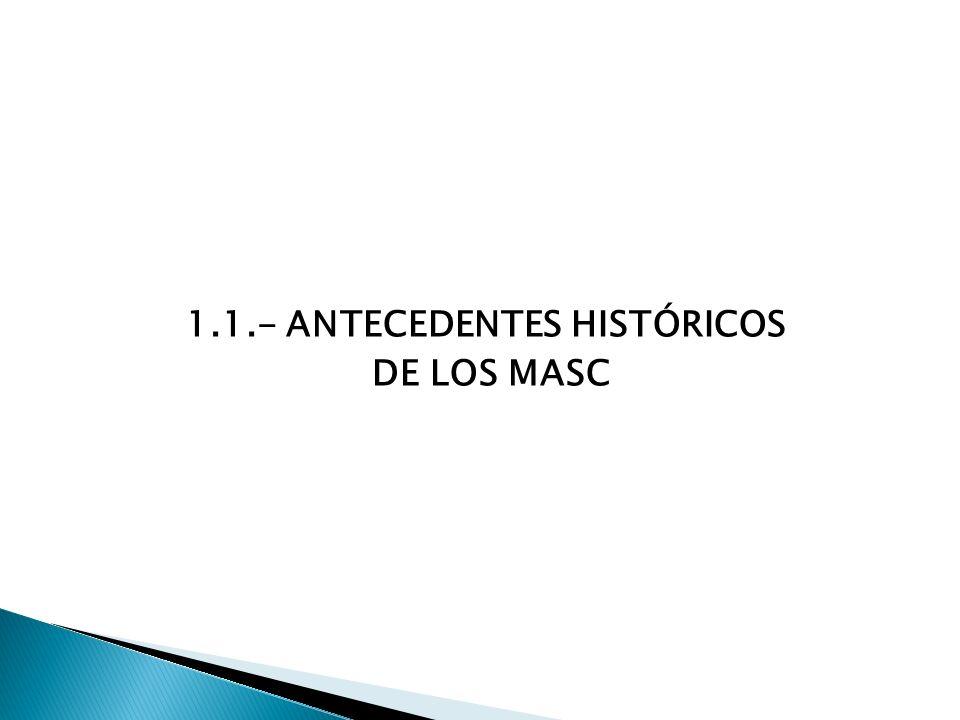 1.1.- ANTECEDENTES HISTÓRICOS