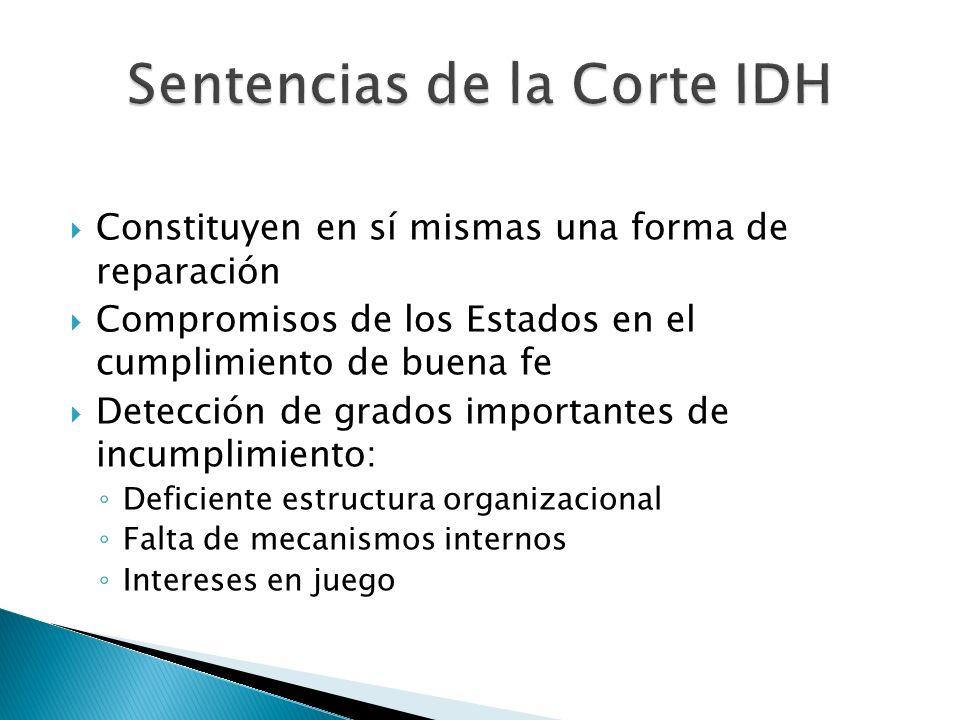 Sentencias de la Corte IDH