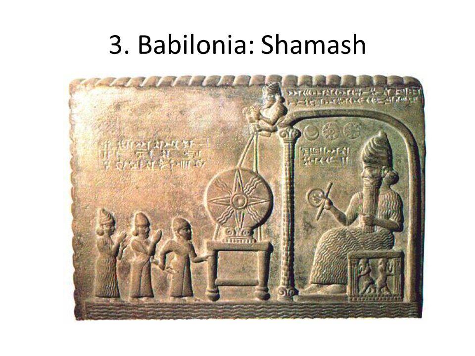 3. Babilonia: Shamash