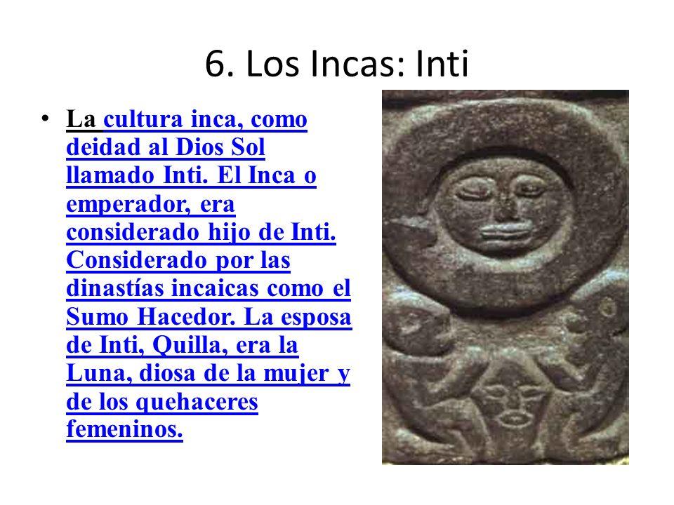 6. Los Incas: Inti
