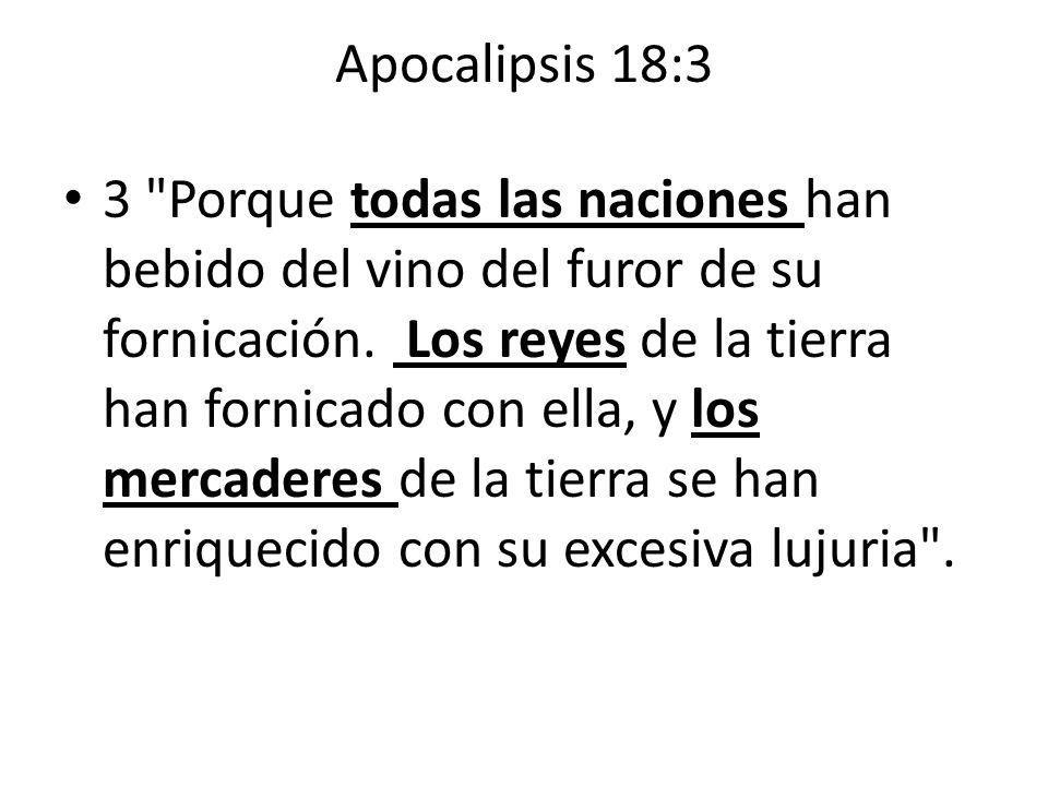 Apocalipsis 18:3
