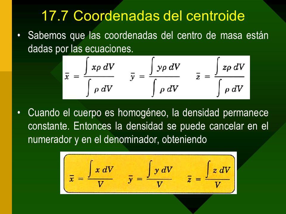 17.7 Coordenadas del centroide