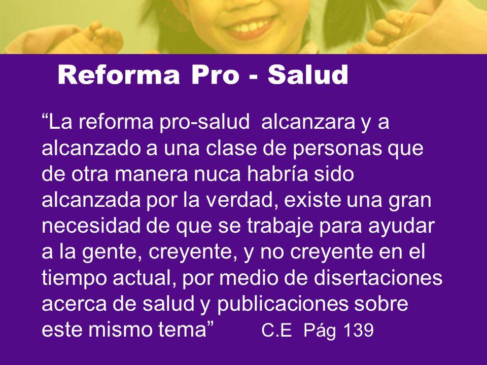 Reforma Pro - Salud