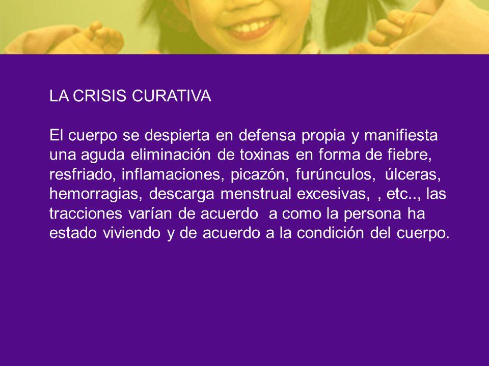 LA CRISIS CURATIVA