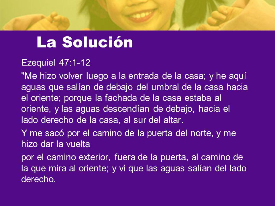 La Solución Ezequiel 47:1-12