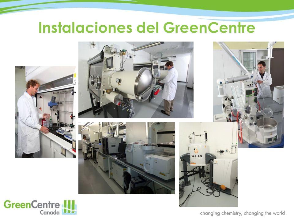 Instalaciones del GreenCentre